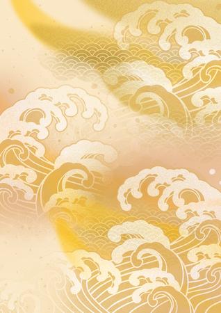 Japanese beautiful Japanese pattern