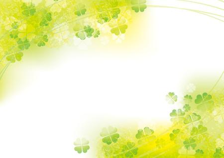 Fresh illustrations of clover