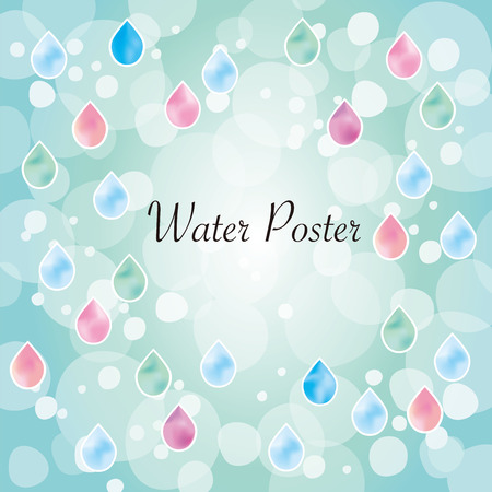 Cute dripping water image