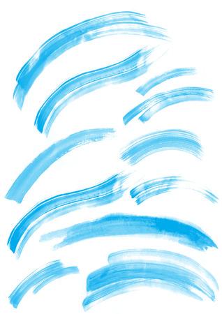 Image of handwritten water Stockfoto