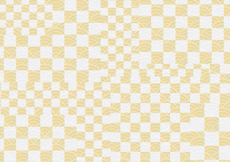 Japanese Wallpaper Pattern Stok Fotoğraf - 111527244
