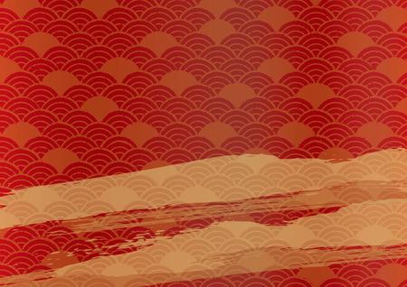 Japanese Wallpaper Pattern Stok Fotoğraf - 111527248