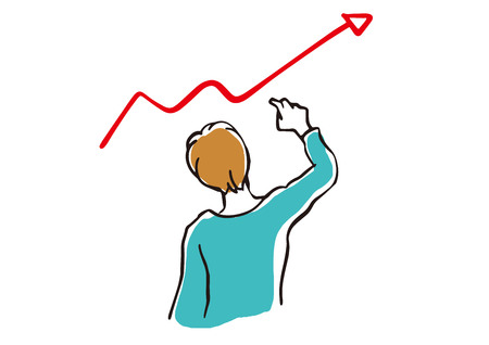 Those who think in front of the graph