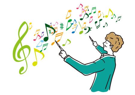 Musicians leading music