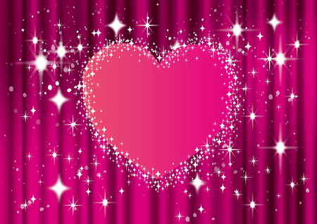 Gorgeous heart background