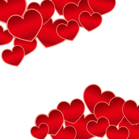 Cute heart material Vettoriali