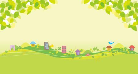 Beautiful eco city