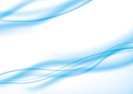 Image d'arrière-plan de la courbe bleu clair