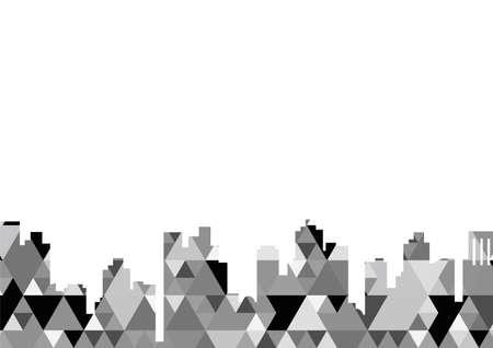 Monochrome business image background design