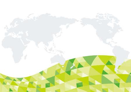 Green business image background design 向量圖像