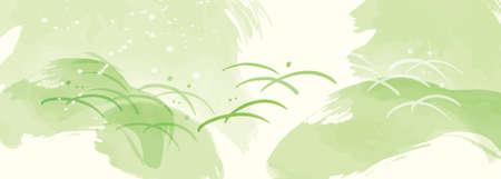 Green background pattern Fresh green matcha