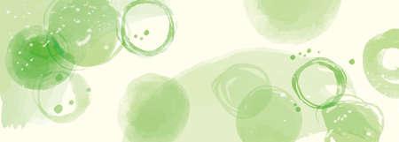 Green background pattern Fresh green matcha Vetores