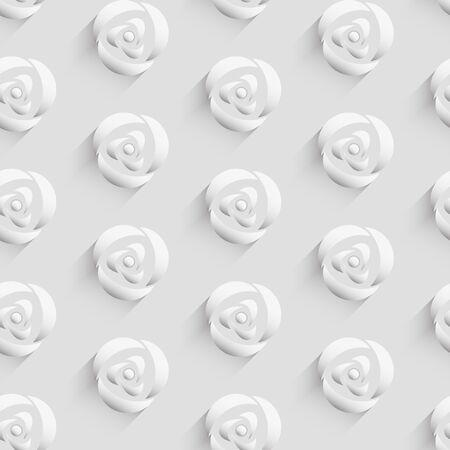 decoracion boda: Vector 3d fondo sin patr�n con flor color de rosa para el saludo y la decoraci�n de la boda