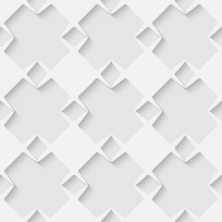 volumetric: Vector 3d seamless geometric pattern background. Minimalistic volumetric monochrome background for decoration wallpaper and print. Eps10
