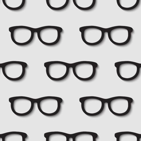 accessoire: 3d seamless mode estivale des lunettes de soleil accessoire hipster.
