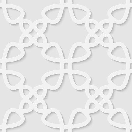 volumetric: Vector 3d seamless geometric pattern background. Minimalistic volumetric monochrome background for decoration wallpaper and print.