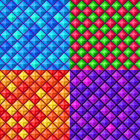 seamless colorful geometric pattern, suitable for various modern background