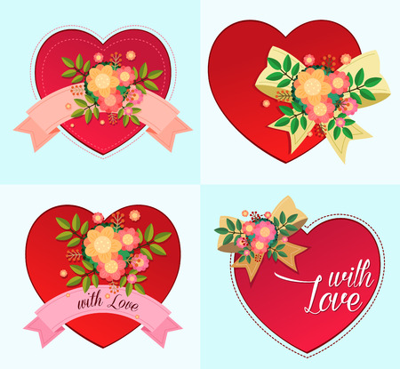 heart symbol for various purpose and event such as valentine and wedding