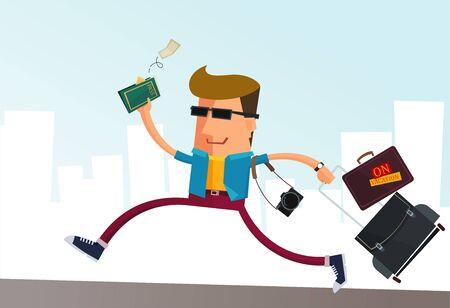 packing suitcase: preparatevi a fare una vacanza