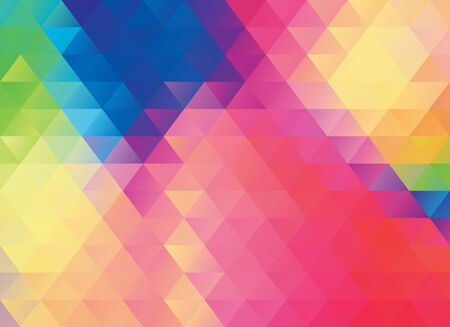 a glamour: colorful polygonal abstract vector texture or background