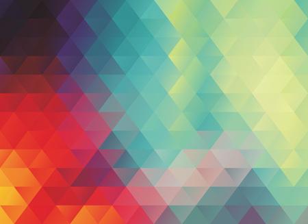 カラフルな多角形の抽象的なベクトル テクスチャや背景  イラスト・ベクター素材