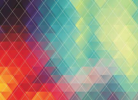 coloré polygonale texture vecteur abstrait ou de fond