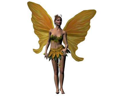 Raytraced fairy