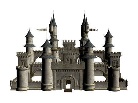 Illustration of a castle