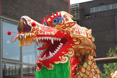 Chinese Dragon-Dance