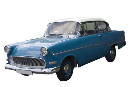 Vintage German Car - Opel Rekord