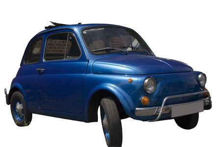 italian car: Vintage and Subcompact Fiat - Nice italian car for the whole