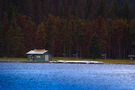 rentals: canoe rentals on a lake - manning park, canada