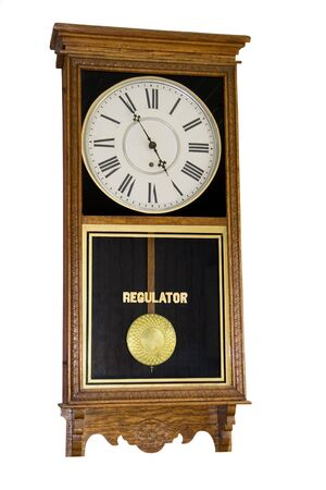 cipher: vintage wall clock - 5 to 5