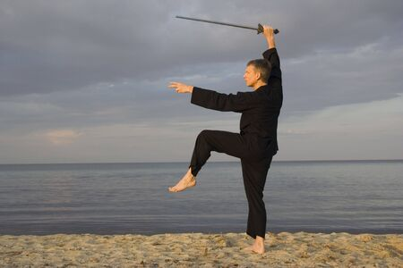tai chi - posture great star - art of self-defense