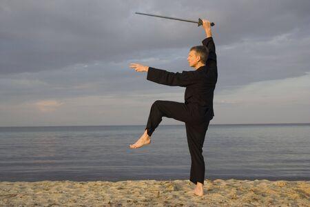 tai chi - posture great star - art of self-defense