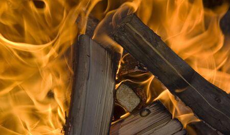 fire and flames ? campfire  Reklamní fotografie