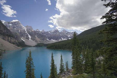 moraine lake - banff national park,alberta,canada - world heritage site -  photo