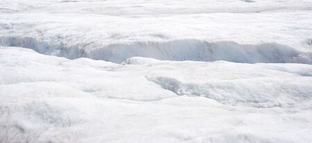 crevasse: crevasse in the glacier - columbia icefield, jasper national park, canada
