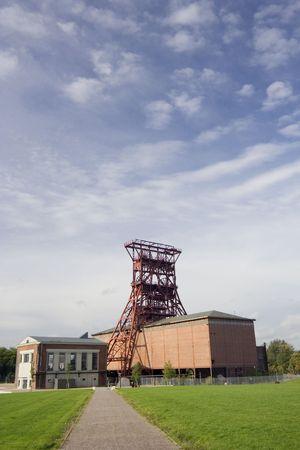 ancient coal mine consol - gelsenkirchen, built 1922, closed 1997 - european cultural capital 2010 -