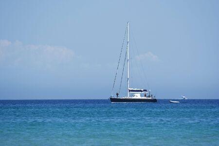 sailboat on the ocean Stock Photo - 2586471