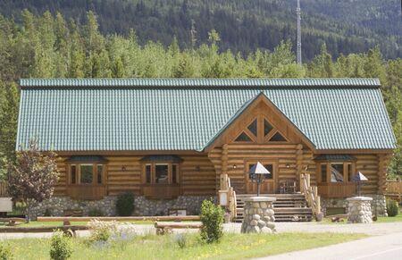Log and Stone Cabin in Canada - British Columbia photo