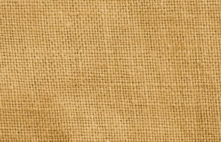 Close-up of a woven fabric - pure linen photo