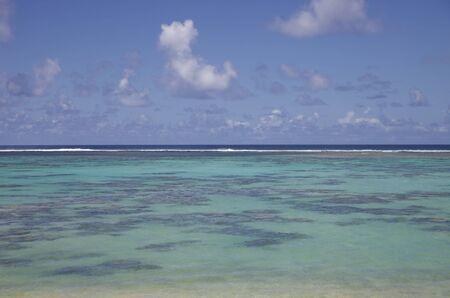 rarotonga: Laguna del Sud Pacifico - Rarotonga, nelle Isole Cook, Polinesia