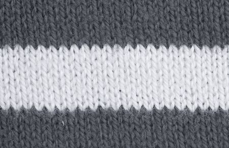 Striped Textile Background � Macro of a Knitting Pattern Stock Photo - 5183584
