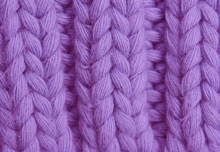 purls: Macro of a woolen Pattern - Knitting Pattern with Purls and Knits