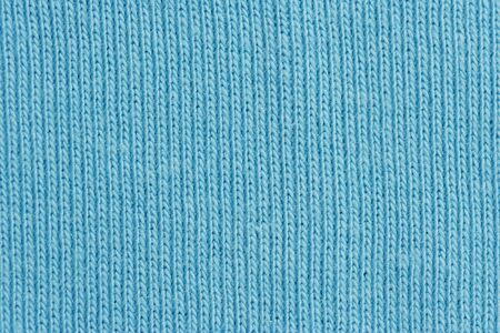 Close-up of a woolen pattern - detail of plain knitting photo