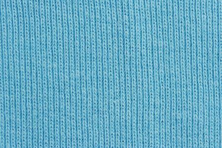 Close-up of a woolen pattern - detail of plain knitting