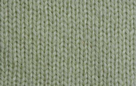 Macro of a woolen Pattern - Detail of plain Knitting