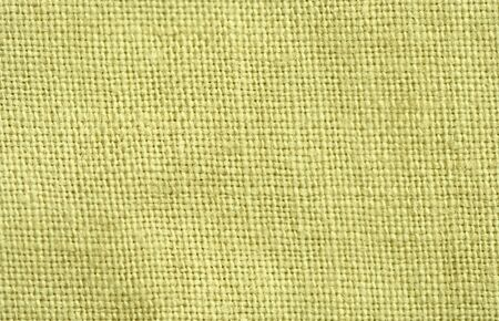 Close-up of a woven fabric - pure linen Stock Photo