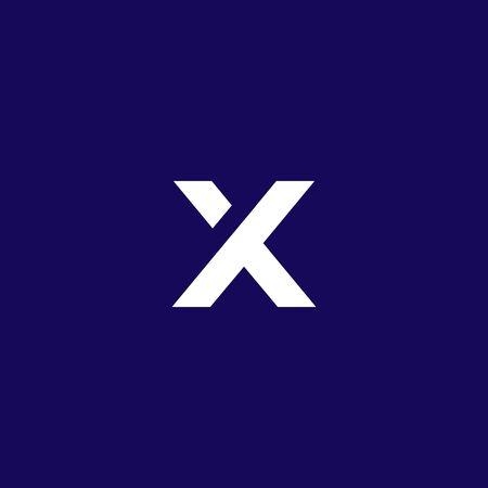 x logo, simple and clean x logo designs